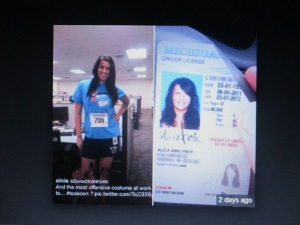 Woman Boston Marathon Bombing Costume WTF..